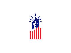 to celebrate this patriotic day we've gathered 20 American Flag logos. 2 Logo, Flag Logo, Logo Branding, Branding Ideas, Liberty Logo, Sound Logo, American Logo, Dream Illustration, Badge Design