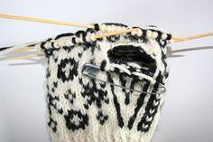 Korleis strikke ein selbuvott? (Strikkexpressen)