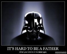 Rebel child = Darth Vader - Longpoo