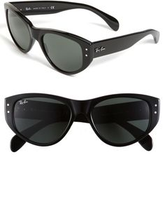 6921453fe Ray-ban Vagabond Cats Eye Sunglasses in Black - Lyst Ray Ban Sunglasses  Sale,