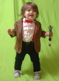 Valentine the Toddler is awesome as she dresses up as all eleven doctors!!!  You are never too young to like Doctor Who...