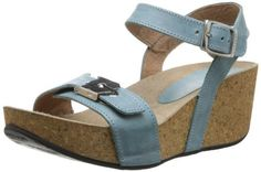 Cordani Women's Astro Platform Sandal,Blue Calf,35 BR/4.5-5 M US