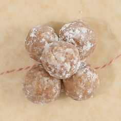 Bourbon Balls / Great Christmas cookie that gets better as it ages. / Epicurious