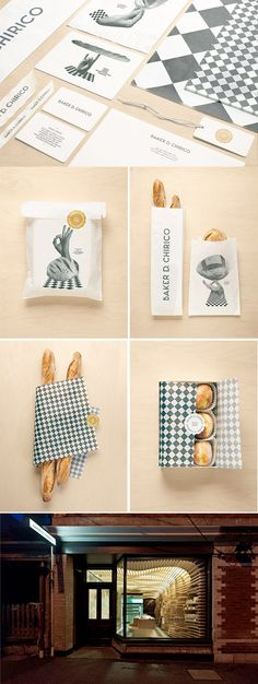 Brand Identity for Baker D. Chirico Bakery & Bread Maker (Australia) by Fabio Ongarato Design.