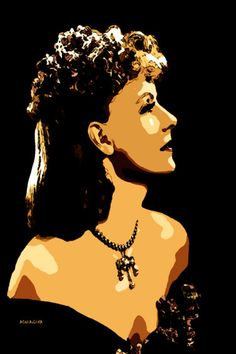 16-POP Art. Greta Garbo VIII,
