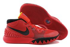 san francisco acee9 41a08 Buy New Nike Kyrie 1 Bright Crimson Black University Red Black 705277 606  from Reliable New Nike Kyrie 1 Bright Crimson Black University Red Black  705277 ...