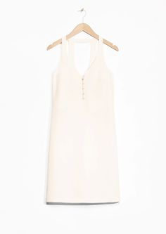 & Other Stories image 2 of Sleeveless Silk Dress in White