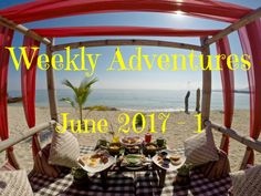 Weekly Adventures from June 2017:  Follow my adventures as I roam around the world and tend to get lost. Last week I was chilling in an amazing resort in Lombok and went my first time to Gili Trawangan. See what I was up to through embedded Facebook Live videos.
