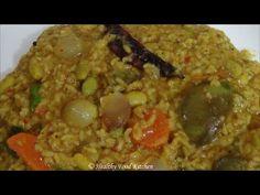 Bisi Bele Bath Recipe-Sambar Rice Recipe-Variety Rice Recipe By Healthy ...