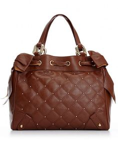Brown Leather Daydreamer bag from Juicy Couture