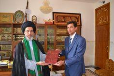 المرجع العراقي العربي السيد  الصرخي الحسني دام ظله