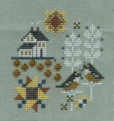 Hands on Design - Well Rounded - Autumn. Easy Cross, Simple Cross Stitch, Stitches, Thing 1, Kids Rugs, Hands, Autumn, Projects, Design
