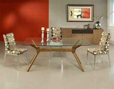 Modern Approaches To Dining Room Sideboards Dining Modern And Room - Bedrock marble dining table