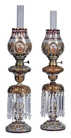 LATE 19TH CENTURY Islamic oil lamps