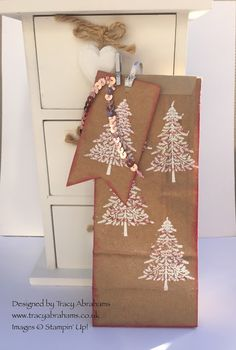 Tracy Abrahams : Craft Gift Bag using Stampin' Up! Supplies