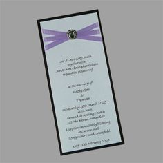 Use these wedding invitation kits to make your own homemade wedding invitations. www.kardella.com