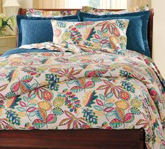 Autumn Foliage Cotton Sateen Bedding