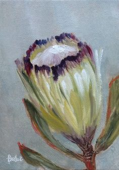 A gallery of daily painting by Heidi Shedlock Protea Art, Abstract Canvas Art, Diy Canvas Art, Iris Painting, Painting & Drawing, Art Floral, Abstract Flowers, Watercolor Flowers, Acrylic Painting Inspiration