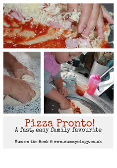 Mummyology:: Pizza Pronto! A fast, easy family favourite