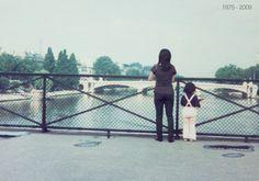Une photographe s'incruste dans ses photos d'enfance - Chino Otsuka