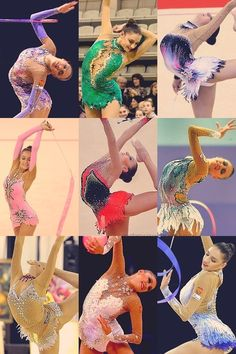 I thank rhythmic gymnastics for making me the dancer I am today