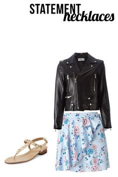 """""""Untitled #3"""" by sunnysideup-xd on Polyvore featuring Miss Selfridge, Yves Saint Laurent and Neiman Marcus"""