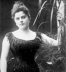 Mary Vetsera (1871 - 1889). Mistress of Prince Rudolf of Austria. They were both found dead in 1889 in Mayerling.