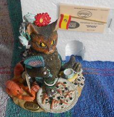 International Fat Cat figurine Spain