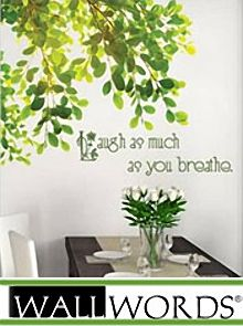 Perfect for dorm room decorating because they are cool & removable: Special Offer from Wall Words:  Get 15% Off your order