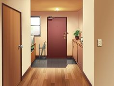anime scenery background episode landscape backgrounds interactive indoor inside living apartments animation hallway apartment naruto manga fantasy wattpad drawing discover
