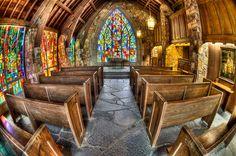 Ida Cason Memorial Chapel, Callaway Gardens, Mark S. Johnson Photo.