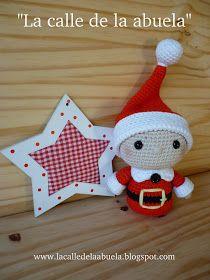 "Street grandmother: ""TELMO"" little helper Santa Claus Love Crochet, Crochet Gifts, Crochet Toys, Diy Crochet, Christmas Toys, Christmas Stockings, Christmas Decorations, Christmas Ornaments, Toys For Tots"