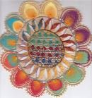 Uruguay: ñanduti is a spider web, but in this case beautifully knitted lace doilies from Uruguay! Tenerife, Romanian Lace, Hispanic Culture, Doodle Coloring, Point Lace, Needle Lace, Lace Doilies, Running Stitch, String Art