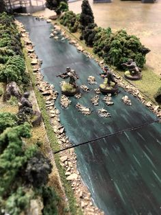 Game Terrain, 40k Terrain, Wargaming Terrain, Military Figures, Military Diorama, Bolt Action Game, Bolt Action Miniatures, D Day Normandy, Chain Of Command