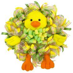 Baby Quack Quack Wreath