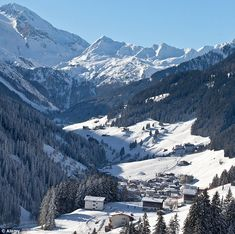 Mayrhofen (Austria) is located in the picturesque Zillertal Valley. Many childhood memories!
