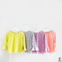 modern long sleeve lace top, kebaya brokat http://www.eiwaonline.com