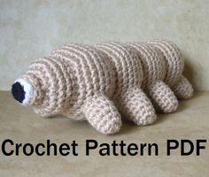 Tardigrade Waterbear Crochet Pattern