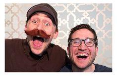Tom Hiddleston with Josh Horowitz - They are such nerds lol