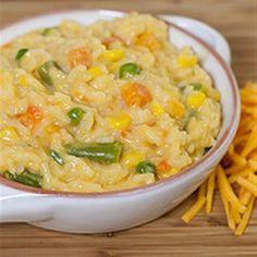 One Pot Easy Cheesy Vegetables and Rice - Allrecipes.com