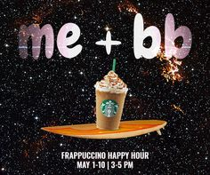 Let's go to Frappuccino Happy Hour and have some fun at Starbucks! frappuccino.com/happyhour