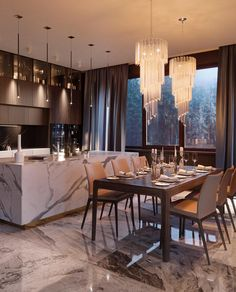 Best Interior Design Tips You Can Try At Home – Best Home Decor Tips - Popular Home Design, Luxury Kitchen Design, Luxury Kitchens, Interior Design Kitchen, Interior Decorating, Design Ideas, Design Design, Design Projects, Modern Kitchens