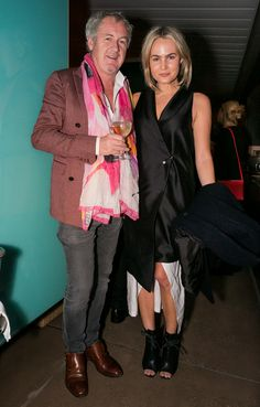 Godfrey Deeny (of Business of Fashion) and Brooke Testoni