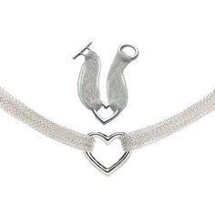 Tiffany Elsa Peretti Open Heart Mesh Set: like the necklace part...