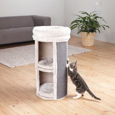 Found it at Wayfair - Mexia 2 Story Cat Tower Scratching Post