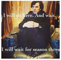I will… I will