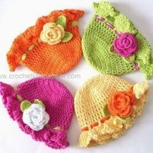 Items similar to Bright Neon Crochet Spring & Summer Floppy Brim Hat - 3 - 6 Months - Cotton on Etsy Crochet Toddler Hat, Crochet Summer Hats, Crochet Kids Hats, Crochet Beanie Hat, Easter Crochet, Crochet Baby Clothes, Knitted Hats, Summer Knitting, Free Crochet