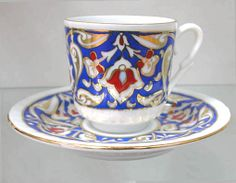 inverted tulip pattern - cup