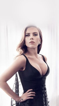 Scarlett Johansson aka Black Widow