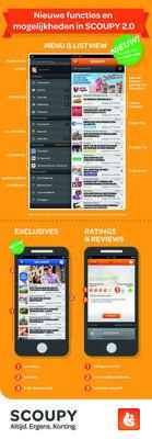 De nieuwe functies en mogelijkheden in de Scoupy-App 2.0 #infographic